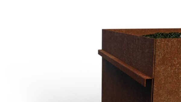 Buiten vuilbak | Design afvalbak | Afvalbak kopen