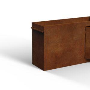 Buiten vuilbak   Design afvalbak   Afvalbak kopen