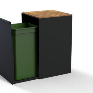KUJP gelakt - Mini met hout